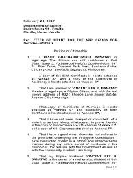 Letter Of Intent Metro Manila Society