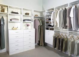 neat organization walk in closet modern apartment closet ideas image