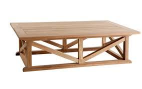 portofino outdoor teak coffee table