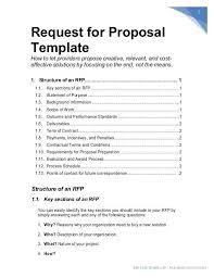 Cost Proposal Templates cost proposal template node100cvresumepaasprovider 47