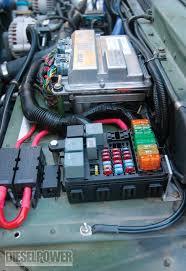 hummer h1 duramax diesel engine diesel power magazine Old Military Fuse Box Old Military Fuse Box #32 Old-Style Fuse Boxes