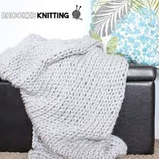 Bernat Blanket Yarn Patterns Knit Simple Bernat Mega Knit Throw Yarnspirations