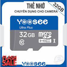 Thẻ nhớ YooSee chuyên dùng cho Camera