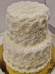 Rosette Buttercream 2 Tier Wedding Cake Cake By Nancys Fancys