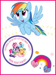 Small Picture My Little Pony Rainbow Dash Birthday Party