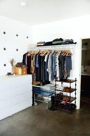 popular no closet solution diy bedroom without storage idea tiny small incredible design in with ikea