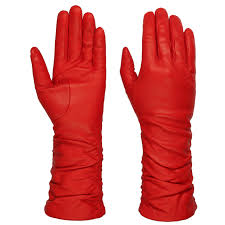 long shaft women s leather gloves by caridei