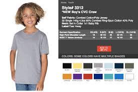 Next Level Cvc Size Chart Boys Clothing Sizes 4 Up Next Level Boys Youth Soft