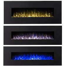 ryan rove denali 60 3 color ventless heater electric wall mounted fireplace