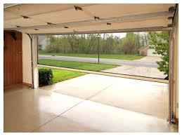garage door screen systemretractable screen on garage door what a great idea  Garage