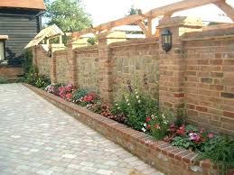 cinder block retaining wall cost garden building