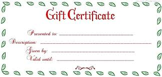 Free Printable Gift Certificate Template Word Free Christmas Gift Certificate Templates Agarvain Org