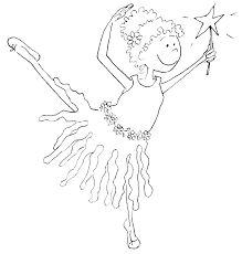 Ballerina Color Pages Nutcracker Coloring Pages Free Ballet Book