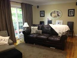 Leather Couches Decorating Ideas S Cushis Leather Furniture Decor