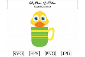 Here is the svg code code explanation: 1 Duck In A Mug Designs Graphics