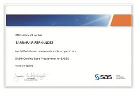 I Passed The Sas Certification Test On Friday My Certificate
