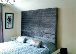 attach headboard to wall image of dark mounted wood headboards door wooden uk