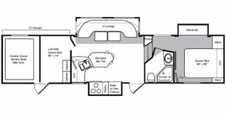 floor plan identification type toy hauler