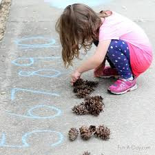 outdoor activities for kids. Ideas For Simple Math Activities Kids Can Do Outside Outdoor