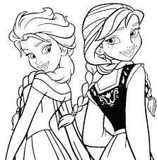 Anna Frozen Da Colorare E Stampare Disney Pinterest 377 Giochi Con