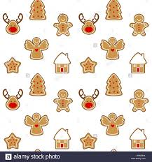 cute gingerbread background. Simple Cute Cute Cartoon Seamless Vector Pattern Background Illustration With Gingerbread  Christmas Cookies With Cute Gingerbread Background B