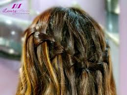 Hairstyle Waterfall waterfall braid hairstyle by jass hair design for events 4983 by stevesalt.us