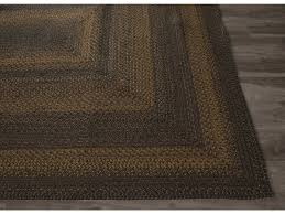 jaipur rugs hudson jute braided selem rectangular black olive area rug