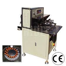 2 stations ceiling fan coil winding machine