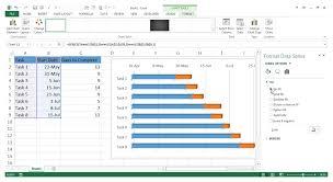 Excel Gantt Chart Task Dependencies How To Make Gantt Chart In Excel Gantt Chart Excel Zoho