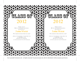 invitation t 40 free graduation invitation templates template lab