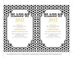 free graduation invitation templates 09