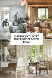french country office. 15 French Country Home Office Décor Ideas Shelterness