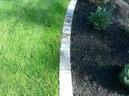 garden edging pavers round landscaping bricks