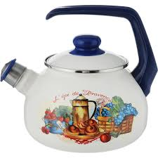 <b>Чайник эмалированный</b> Metrot Прованс <b>2.5 л</b> (1001475087 ...