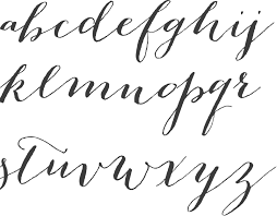 chloe welbaumhow to use calligraphy fonts