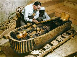 the discovery of tutankhamun s tomb in color discovery  1922 the discovery of tutankhamun s tomb in color