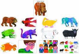 Amazon.com: Carson Dellosa Brown Bear, Brown Bear, What Do You See ...