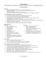 Performance Resume Template Music Performance Resume Template Therpgmovie 2