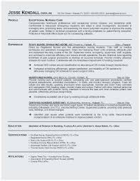 Sample Nursing Student Resume Clinical Experience Outstanding