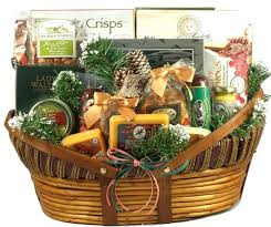 holiday cheese and sausage gift basket xl