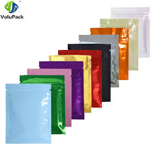 <b>7.5x10cm</b>/3x4in <b>100pcs</b>/<b>lot</b> Glossy Colors Flat Gift Packing Bags ...