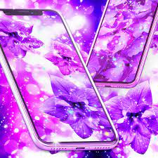 Purple live wallpaper for Android - APK ...