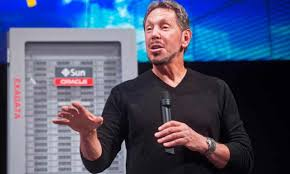 Oracle founder Larry Ellison resigns after 35 years as CEO | Oracle | The  Guardian