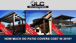 patio cover cost aluminum vinyl