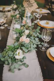 top table decoration ideas. Wedding Table Runners Ideas Rustic Tabl On Top Five Must Haves Giveaway Decoration E
