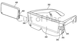 apple virtual reality. virtual reality was one of the first iphone accessories apple considered. photo: uspto/ d