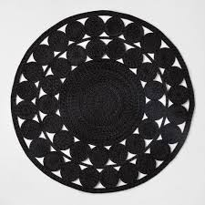 outdoor circle rug 6 round ornate woven outdoor rug opalhouse teal area rugs and other rugs