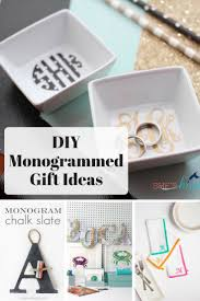 here i ve rounded up some of the cliest diy monogrammed gifts