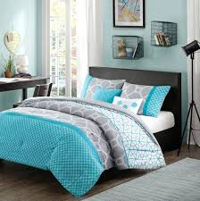 blue bedroom sets for girls. Blue Bed Comforters Girls Teen Aqua Gray White Hexagon Geometric Comforter Set Full Queen . Bedroom Sets For