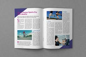 Indesign Magazine Templates Magazine Proposal Indesign Templates Dealjumbo Com